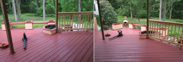 Deck Painting in Bridgeport, CT (1)