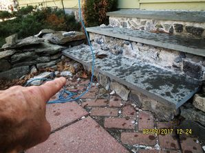 Rebuilding Front Steps in Milford, CT (2)