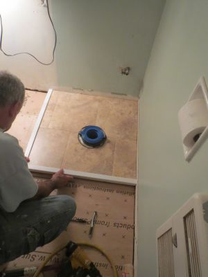 Floor work by Larlin's Home Improvement