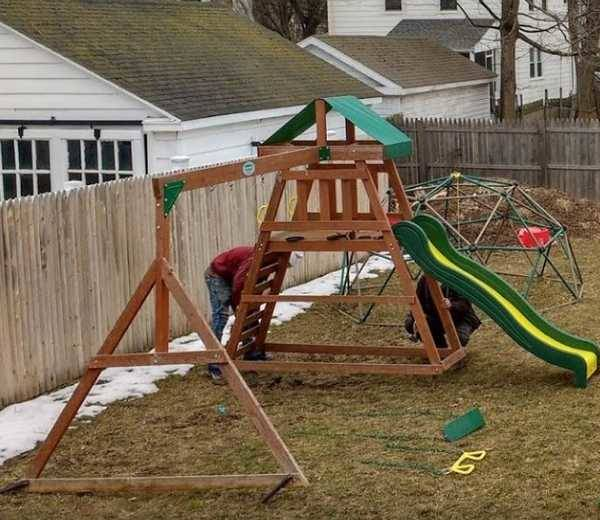 Jungle Gym Assembled in Ansonia, CT (1)